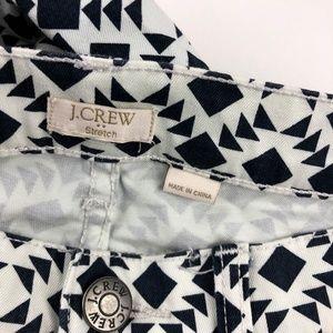 J. Crew Factory Jeans - J. Crew Factory Skinny Jean Printed Twill